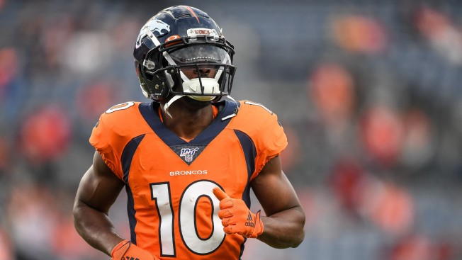 49ers Trade for Wide Receiver Emmanuel Sanders From Broncos: Report