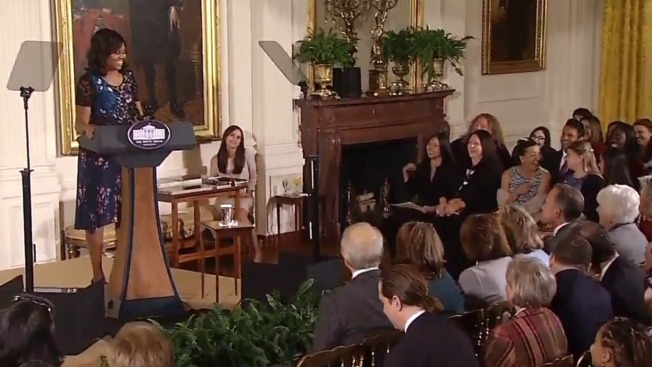 Bay Area Youngsters Honored by First Lady at White House