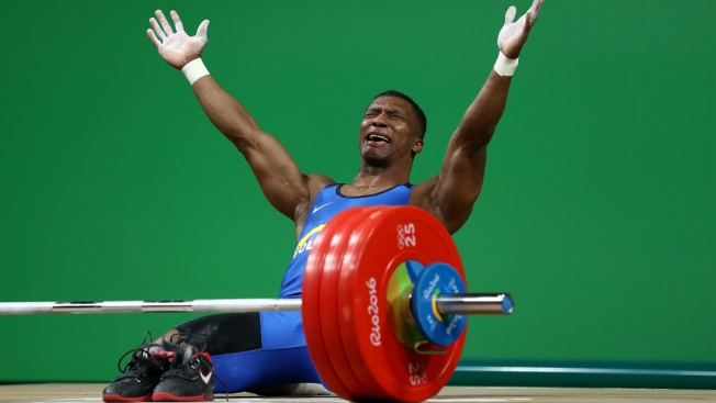 Colombian Weightlifter Wins Gold, Bids Emotional Farewell to Olympics