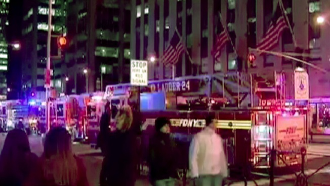 Fire Reported at Time-Life Building in Manhattan: FDNY