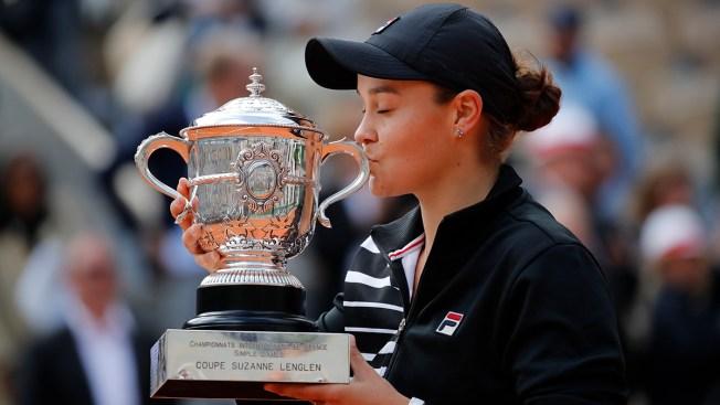 Australian Wins 1st Major at French Open