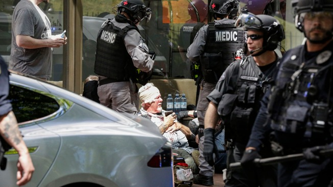 3 People Arrested in Proud Boys, Antifa Clash in Oregon