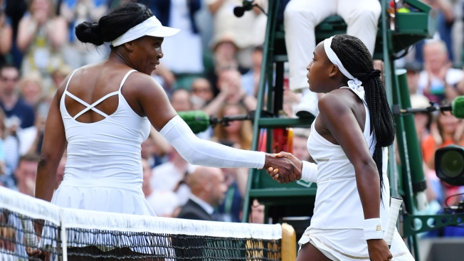 15-Year-Old Knocks Off Venus Williams at Wimbledon