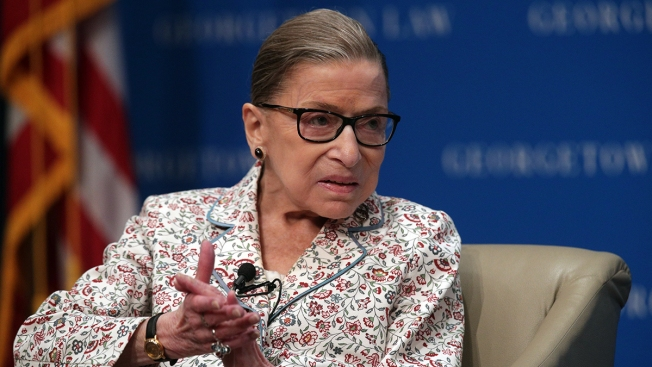 Ruth Bader Ginsburg Treated for Tumor on Pancreas
