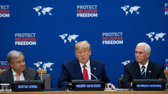 Trump Condemns Religious Persecution Amid Refugee Squeeze
