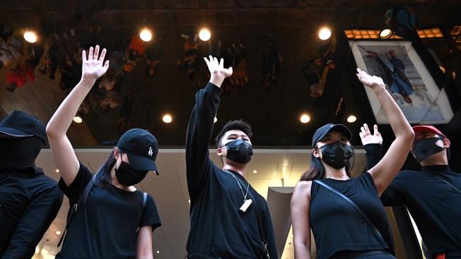 Hong Kong Lawmakers Seek to Block Mask Ban; Protests Persist