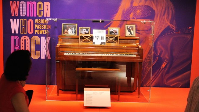 Lady Gaga's Childhood Piano Could Fetch $200,000 at Auction
