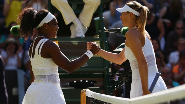 Williams Beats Sharapova in 2 Sets, Reaches Wimbledon Final