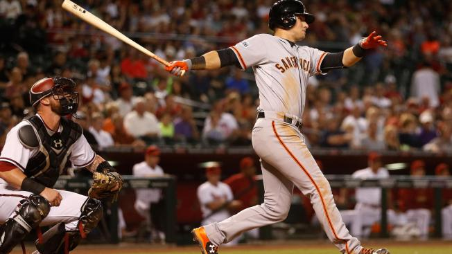Panik Homers Again in Giants Win Over D'backs