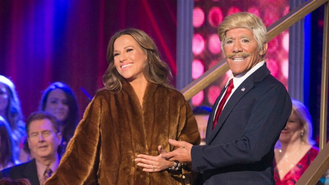 Geraldo Rivera as Donald Trump Gets Dumped on 'Dancing With the Stars'
