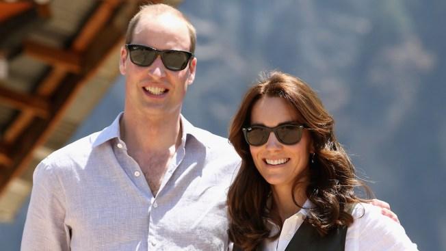 Duke and Duchess of Cambridge Trek to Bhutan's Cliff-Side Monastery