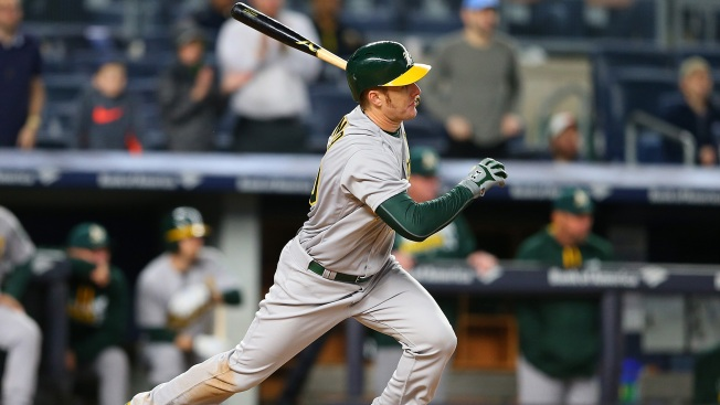 A's Battle in Bronx, Top Yankees in Extras