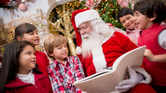 SF Postmaster Teaches Kindergarten Students How to Write Letters to Santa Claus