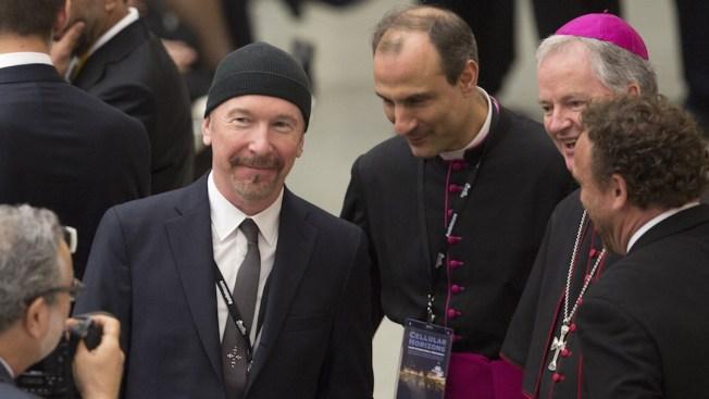 U2's The Edge Makes History as He Rocks the Sistine Chapel