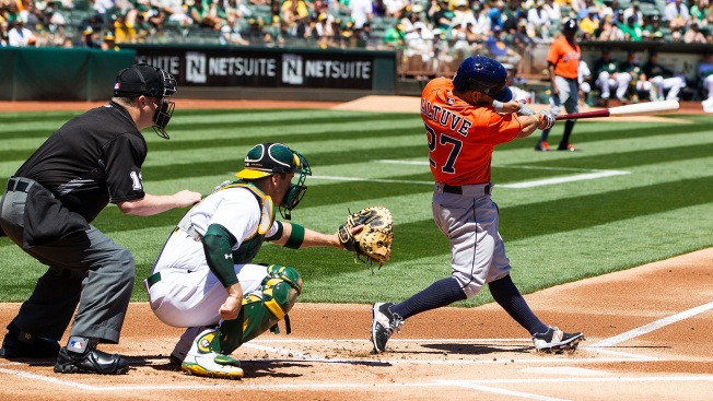 A's Let One Go, Can't Complete Sweep vs Astros