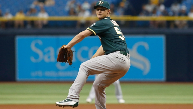 Graveman Teed Up by Miller in A's Loss to Rays