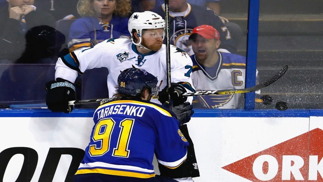 Sharks Drop Game 1 of Western Conference Finals, 2-1 to Blues