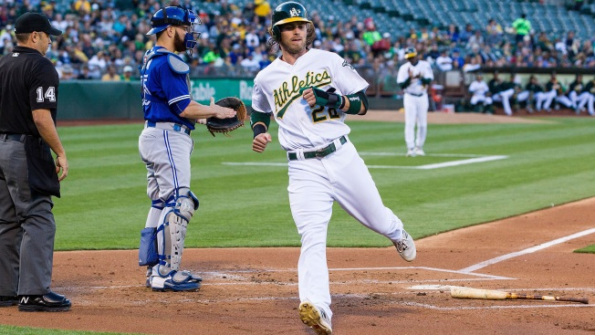 A's Beat Blue Jays Thanks to Overturned Call