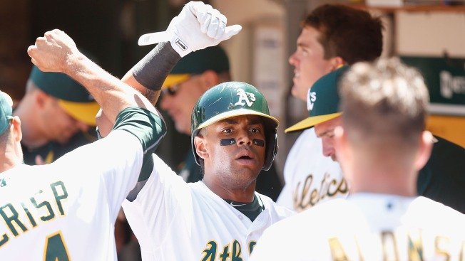 Deep Ball Pushes A's Past Blue Jays