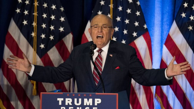 Rudy Giuliani thanks Cleveland police union for Trump endorsement