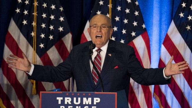 Rudy Giuliani Continues to Fuel Hillary Clinton Health Rumors