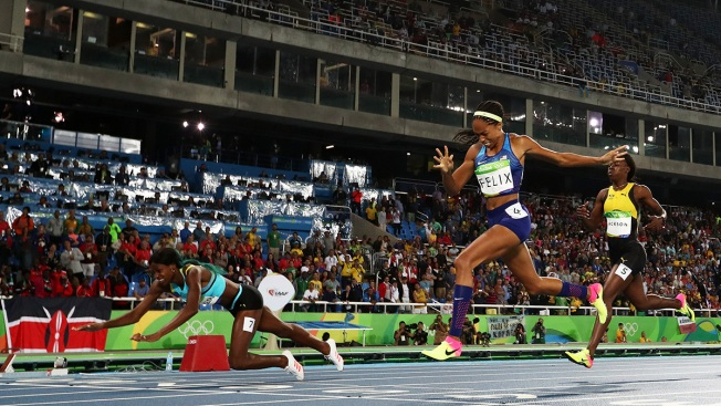 'It Wasn't My Best Race': Allyson Felix Reflects on Silver Medal, Competitor's Dive