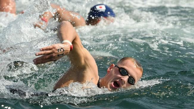 #ReadySetRio: Dutch swimmer Weertman wins men's 10k open water gold