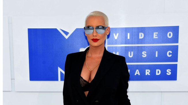 Man Breaks Into Amber Rose's Home While She, Others Sleep