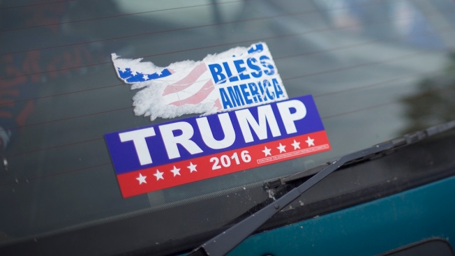 Driver Accused of Ramming a Car Over Donald Trump Bumper Sticker
