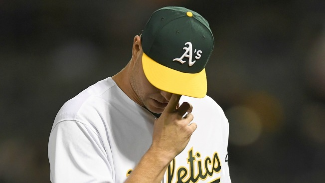 A's Hit Three Homers, But Get Swept After Allowing Four Late Runs