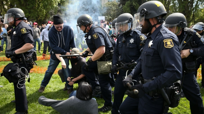 Ahead of Ben Shapiro's Visit, Berkeley Police Seek Permission to Use Pepper Spray For 'Effective Intervention'