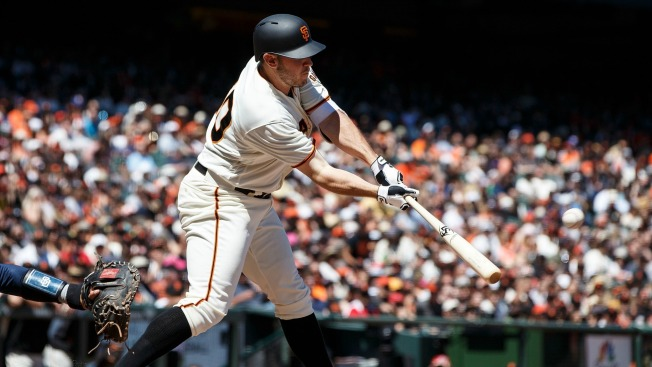 Melancon Wastes Blach's Gem, Giants Fall to Padres in 12 on Myers' Homer