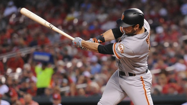 Giants Start Off Road Series in St. Louis With Comeback Win