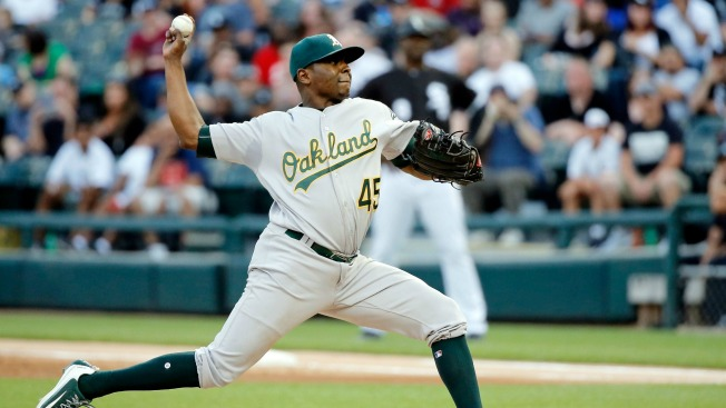 A's top prospect Franklin Barreto blasts HR in major-league debut