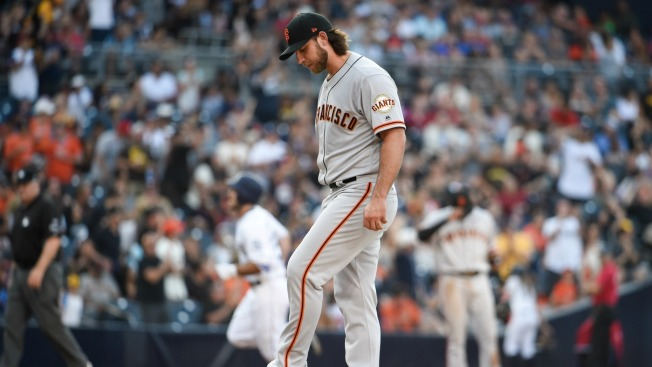 Giants Lose to Padres on Hector Sanchez Walk Off Home Run