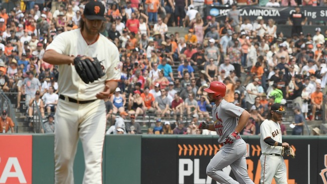 Bumgarner Hits Third Home Run, But Allows Three Long Balls in Giants' Loss