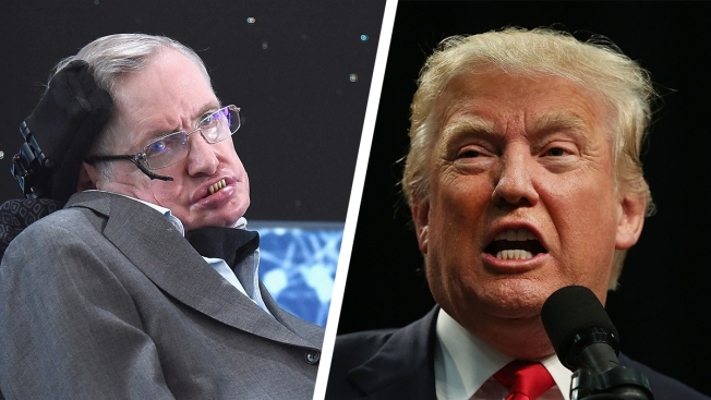 Stephen Hawking Fears He 'May Not Be Welcome' in the US