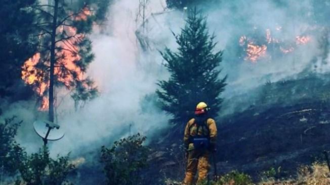 Crews Increase Containment Even as Trinity County Blaze Grows