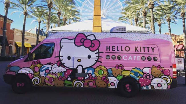 PSA: Hello Kitty Truck Coming to Walnut Creek This Weekend