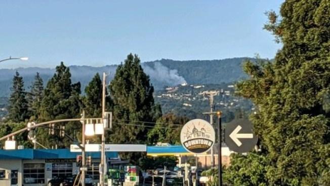 Crews Stop Spread of Vegetation Fire in San Mateo County's Huddart Park