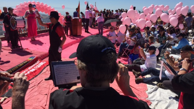 Orlando Shooting Front and Center at San Francisco Pride's Pink Triangle