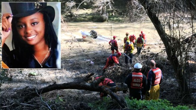 Crews Pluck Car from Alameda Creek, 18-Year-Old Driver Still Missing