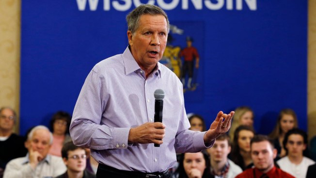 Kasich Says Families Are 'Off Limits' in Campaign