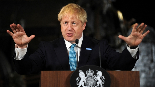 Johnson Presses EU to Give Way Amid No-Deal Brexit Warnings