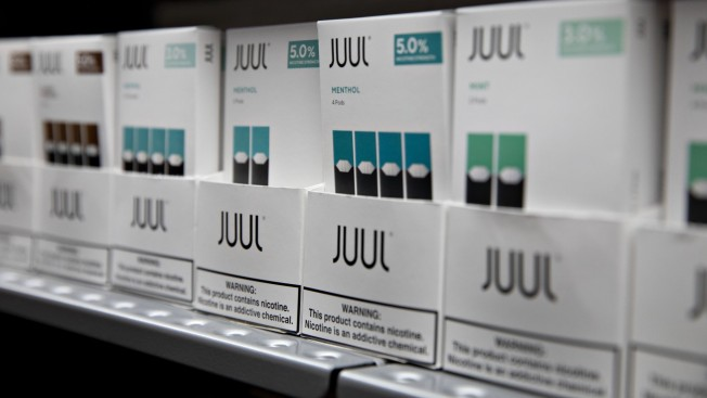 E-Cig Maker Juul Halts Sales of Its Popular Mint Flavor