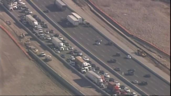 Fatal Livermore Crash Shuts Westbound Lanes of Interstate 580 - NBC