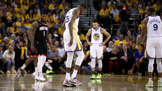 Kevin Durant Likely Out of First 2 Warriors-Blazers Games: Report
