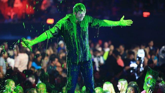 Stars Get Slimed at Kids' Choice Awards 2016