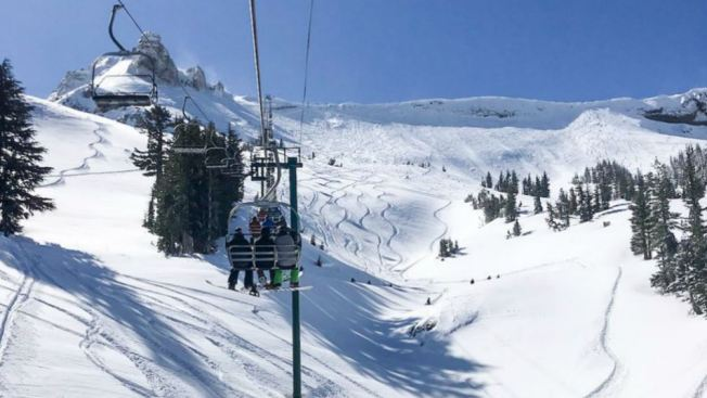 Just How Much Snow Fell Near Lake Tahoe? Resorts Say Over 8 Feet