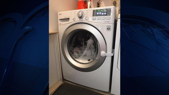 Mom Issues Warning After 3-Year-Old Gets Locked Inside Washing Machine